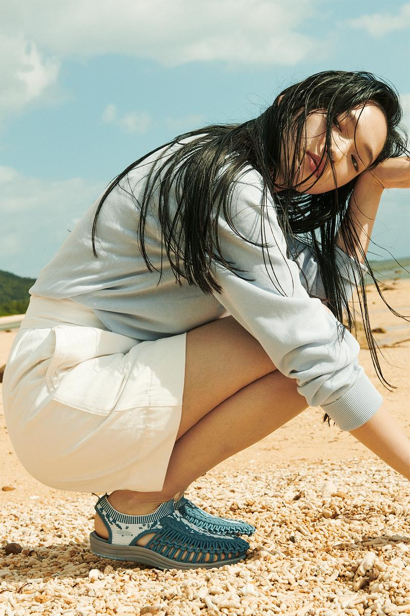 KEEN キーン ユニーク エヴォ エボ ニット アッパー 最 新作 UNEEK EVO 発売 サンダル