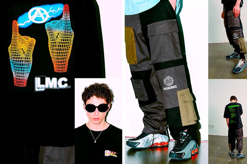 プレジャーズ コラボレーション コラボコレクション LMC PLEASURES Spring Summer 2019 Part 2 Collection Lookbook Lost Management Cities