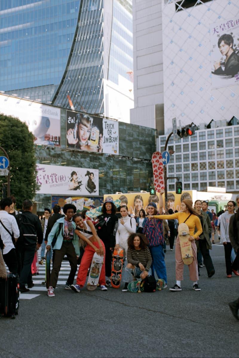 Manhattan Portage マンハッタンポーテージ NY ガールズスケートクルー スケートキッチン Skate Kitchen