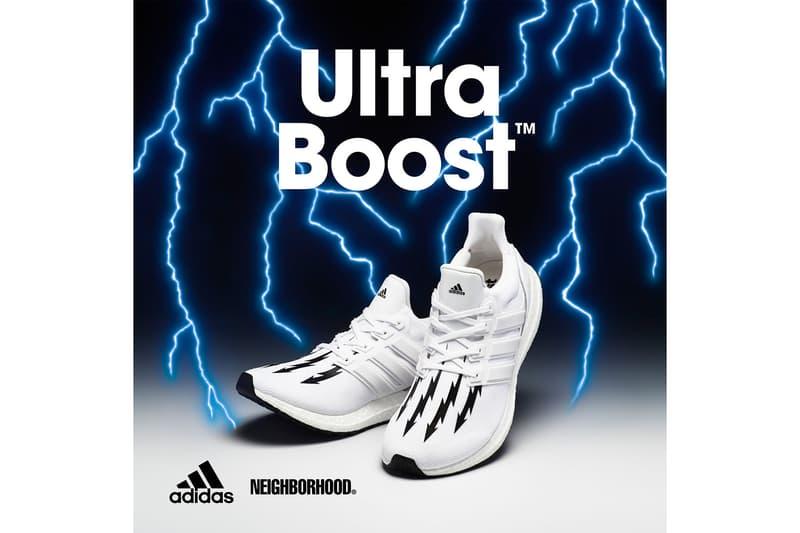 NEIGHBORHOOD x adidas ネイバーフッド x アディダス によるコラボ ウルトラブースト ULTRABOOST が登場