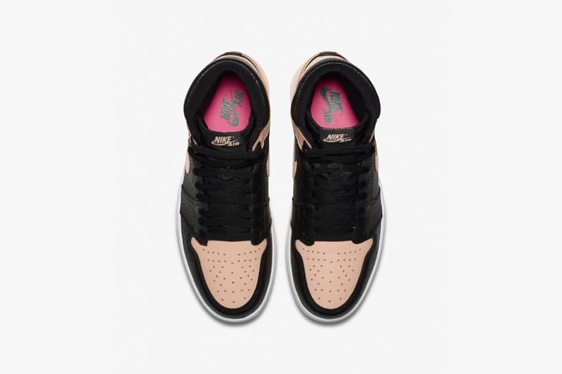 """足元に季節感をプラスする Air Jordan 1 の新色 """"Black/Pink"""" が登場"""