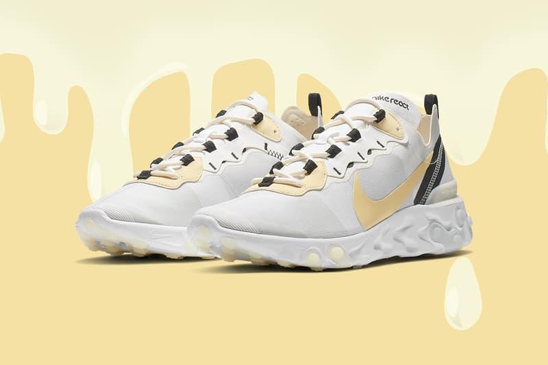 国内 BILLY'S 限定展開となる Nike React Element 55 の新色モデルが登場 先鋭的なデザインで昨年話題を呼んだ名作が、ニュートラルな色合いに生まれ変わってリリースアウト