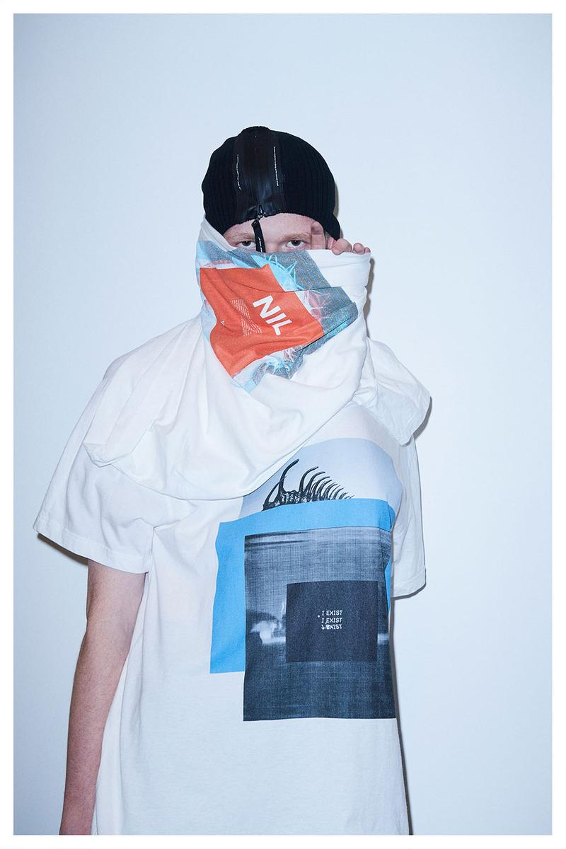 JULIUS デザイナーの堀川達郎が手がける NILøS より最新コレクション { NOT SAD; } が登場