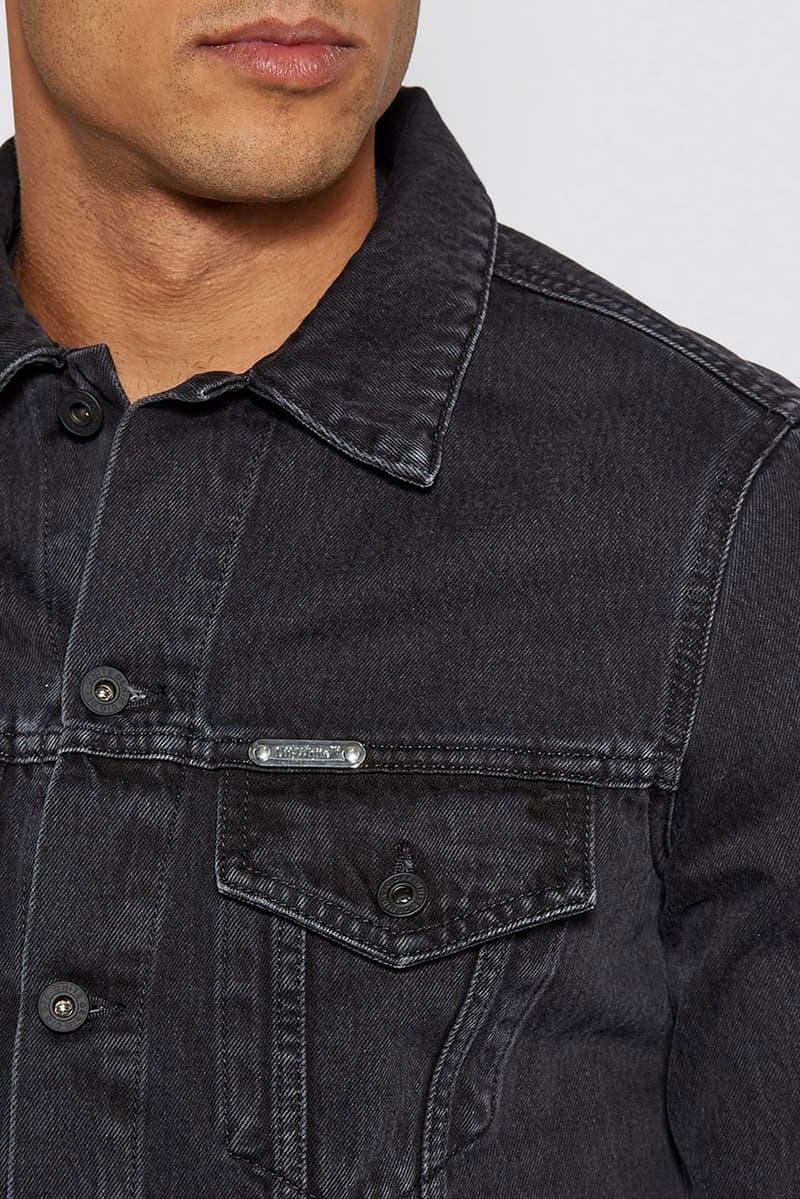オフホワイト ヴァージル・アブロー  ハロッズ  カプセルコレクション  イギリス Off-White™ for Harrods SS19 Reflective Capsule collection collaboration exclusive limited edition logo hoodie tee shirt jacket denim sweatpants branding x virgil abloh black