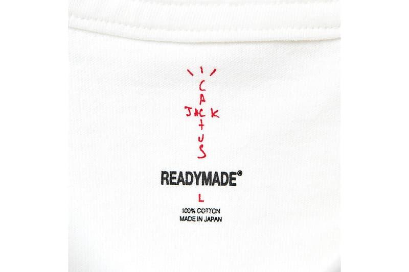 レディメイド x トラヴィス・スコット READYMADE が Travis Scott との最新コラボアイテムとなる3枚組パック T シャツを発売