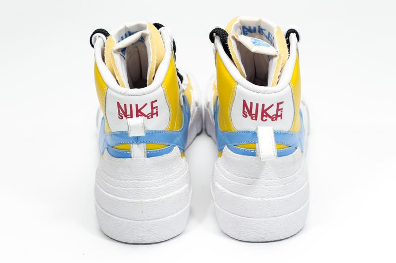 sacai Nike Deconstructed Blazer High Yellow Baby Blue