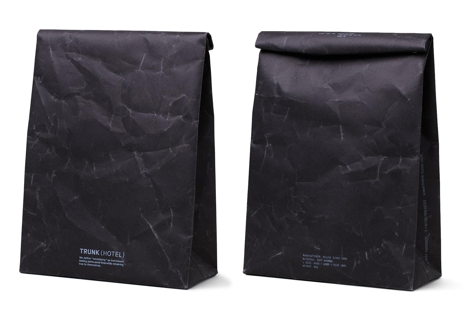 SIWA by DELUXE x TRUNK(HOTEL) 紙和 デラックス トランクホテル スーベニアバッグ 紙袋 バッグ コラボ