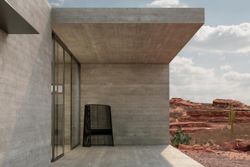 sharp house new mexico marc thorpe architecture design solar powered