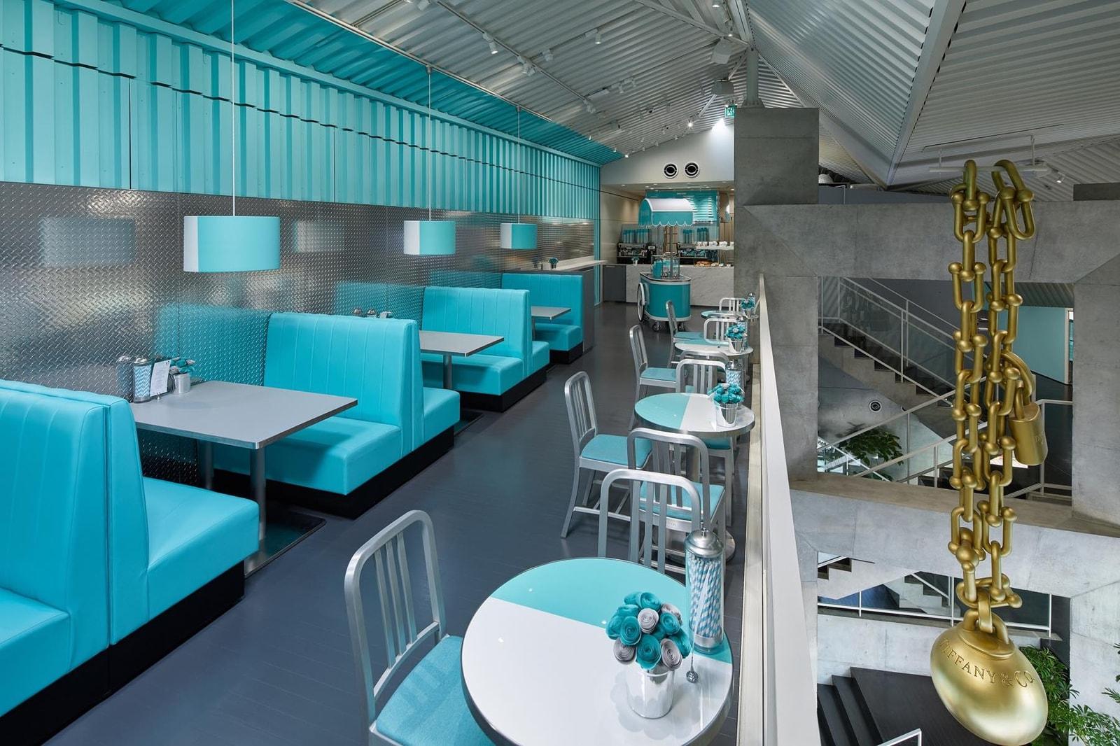 ティファニー Tiffany & Co.  原宿 キャットストリート コンセプトストア オープン 日本 東京