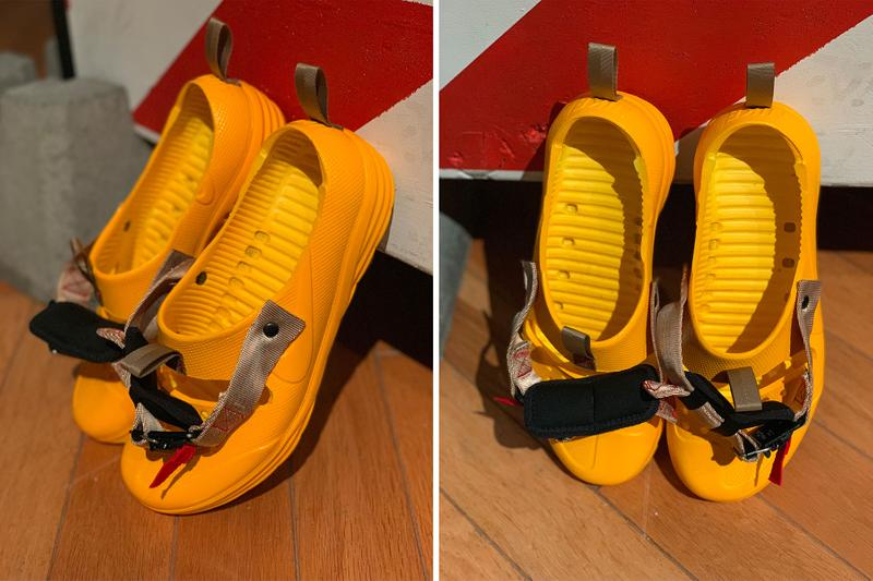 Nike Solarsoft Sandals Tom Sachs Yellow Mars yard Shoe Sneaker