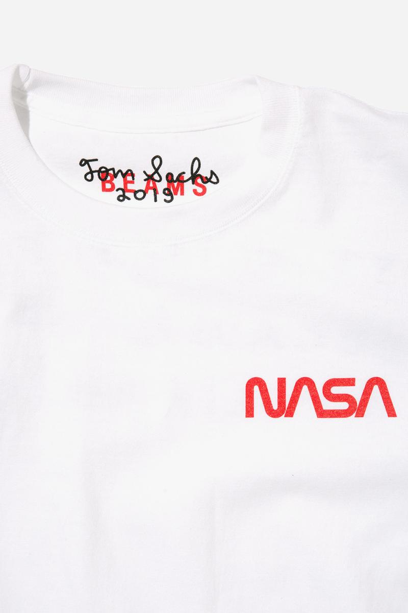 トムサックス ビームス 原宿 東京 Tシャツ コラボコレクション コラボレーション NASAチェア Tom Sachs BEAMS Pop-up Space Artist Tokyo T-Shirt Collaboration Tokyo Opera City Art Gallery NASA SPACE PROGRAM Mars