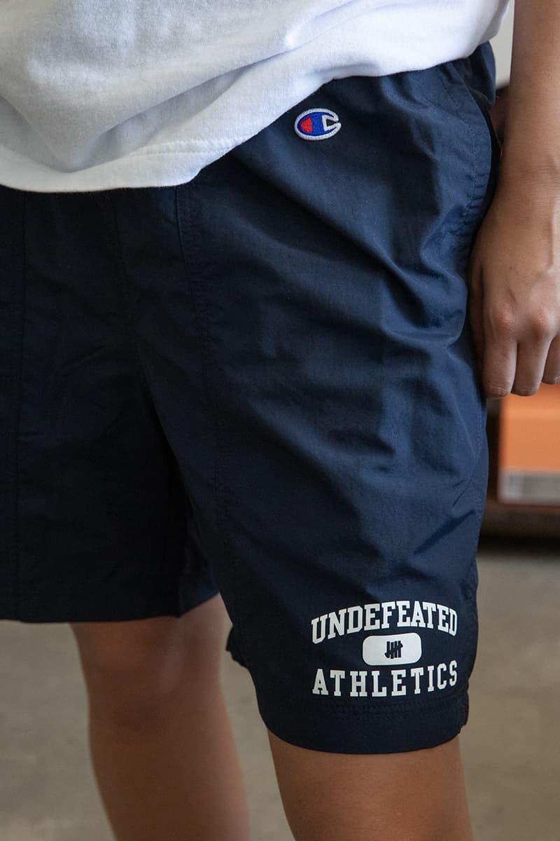 アンディフィーテッド チャンピオン UNDEFEATED Champion オンライン Tシャツ ショーツ