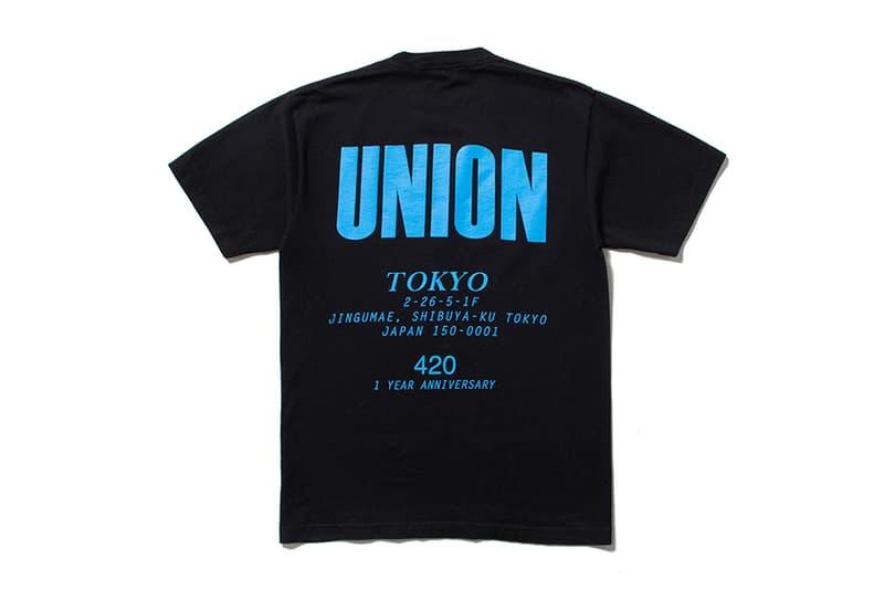 ユニオン トウキョウ UNION TOKYO ステューシー アンディフィーテッド ミスターグリーン Tシャツ パーカー Stussy Undefeated Mister Green Wasted Youth ウェイステッドユース
