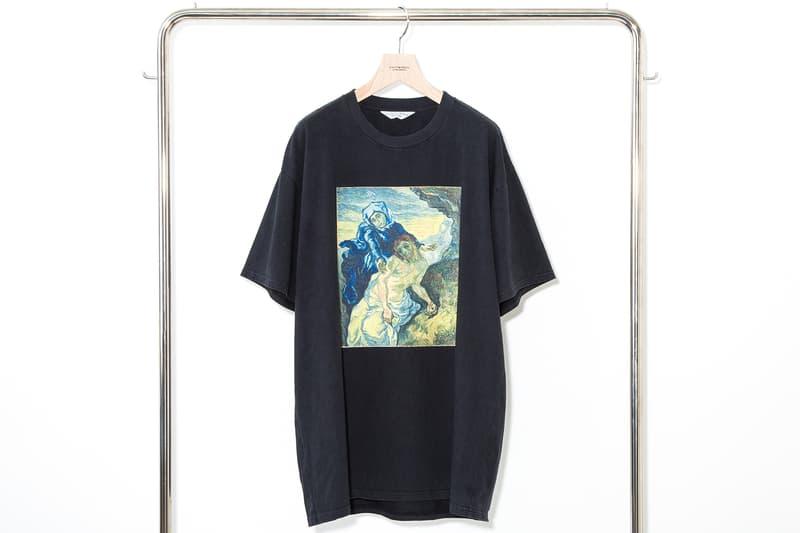 UNUSED アンユーズド ゴッホ Van Gogh Museum Tシャツ 開襟シャツ 作品 ひまわり 別注 アパレル 発売
