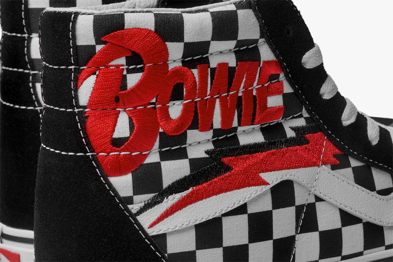 "Vans David Bowie Capsule Collection Spring Summer 2019 SS19 Drop Release Date Information Clothing T-Shirts Sneakers Footwear Hats Old Skool SK8-Hi Slip On Ziggy Stardust Aladdin Sane Classic Era Space Oddity ""the man who fell to earth"""