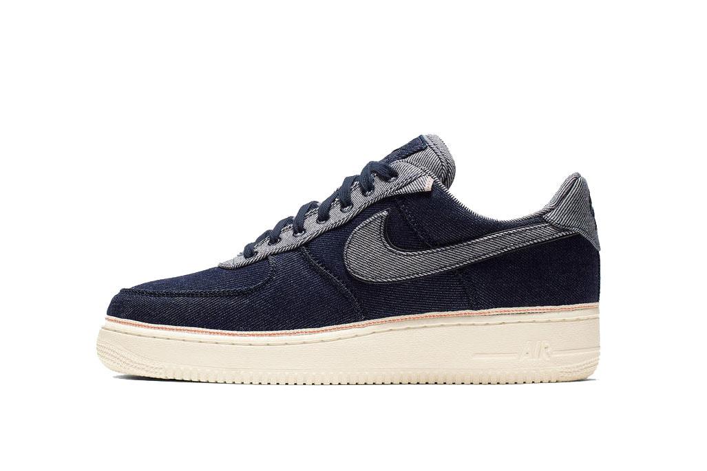 デニム ナイキ nike air force 1  エアフォース1 ブランド 3x1  Nike コラボ 発売 スニーカー