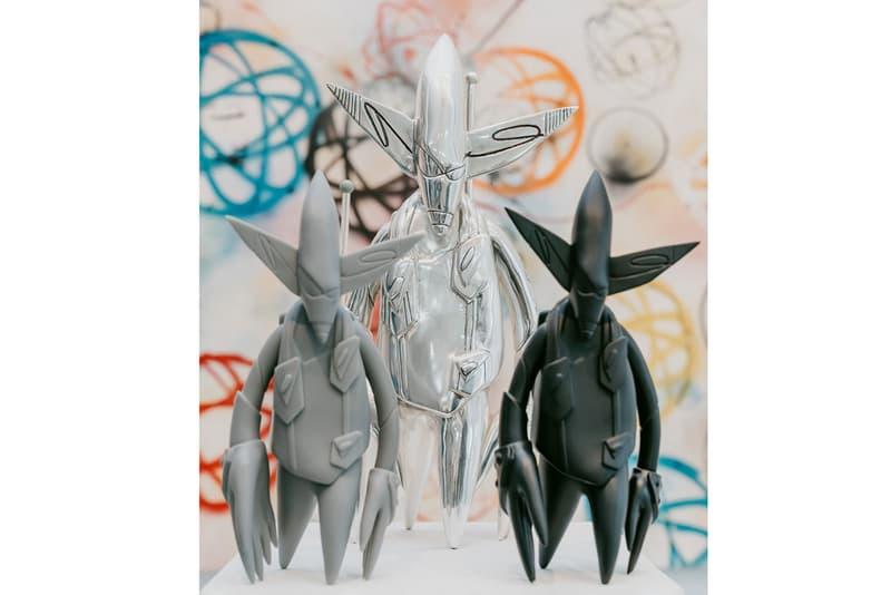 フューチュラ ラボラトリーズ ア・コールド・ウォール Futura Laboratories Dover Street Market Relaunch collaboration a cold wall samuel ross clothing line collection skatedeck helmut bag bucket hat flight suit