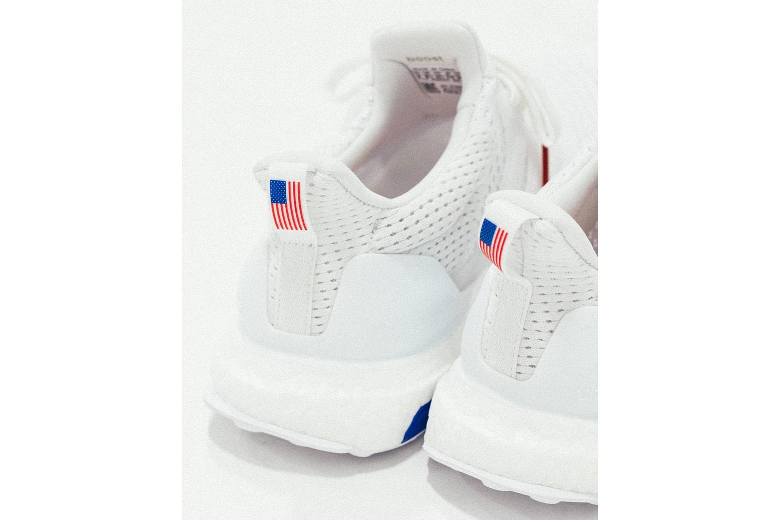 アディダス アンディフィーテッド adidas undefeated 新作 コラボ UltraBOOST ウルトラブースト 世界 先行 発売決 スニーカー 星条旗 アメリカ