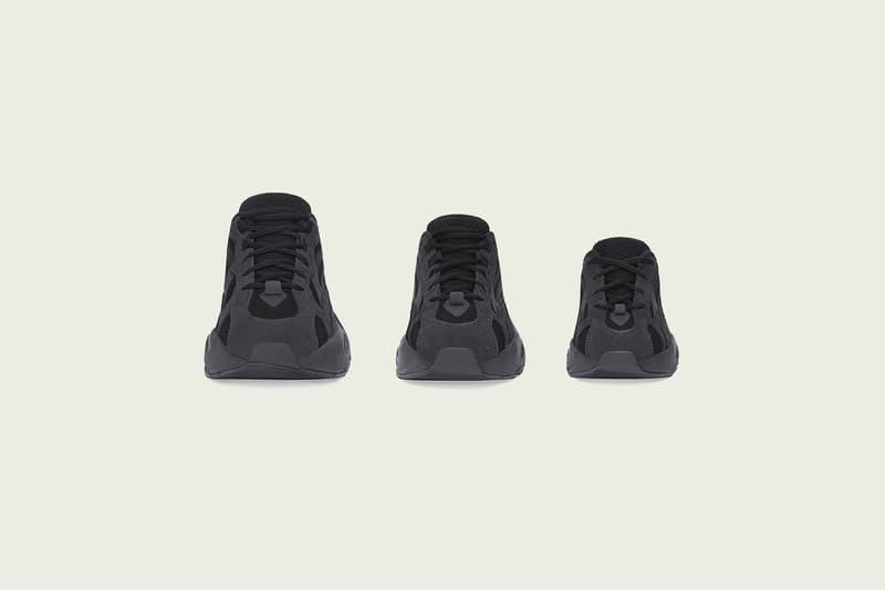 オールブラック 黒 イージーブースト kanye カニエ ウェスト west YEEZY BOOST 700 V2 ヴァンタ バンタ Vanta 発売
