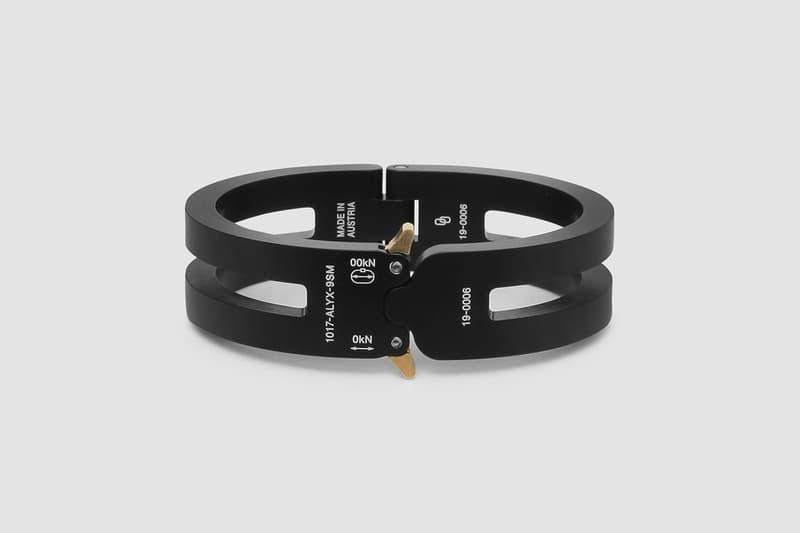 アリクス マシュー・ウィリアムス 1017 ALYX 9SM Rollercoaster Bracelets Matthew M Williams Spring Summer 2020 SS20 Collection Accessories Drop Pre-Release Information Official Look