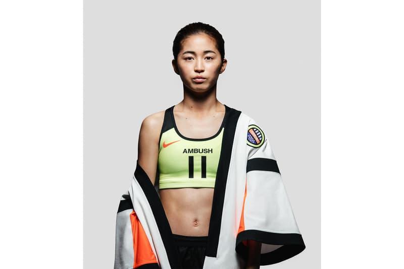 ナイキ ユン アンブッシュ Yoon Ahn, Marine Serre & More to Redesign Nike's Football Kit soccer 2019 fifa women's world cup Christelle Kocher Erin Magee KOCHÉ MadeMe