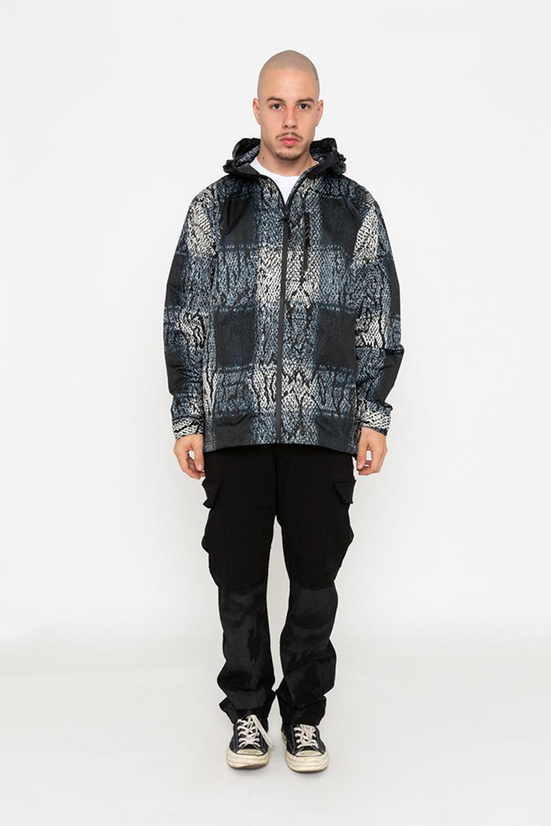 バビロンLA Babylon Spring/Summer 2019 Collection release info price date drop babylon la kosuke kawamura neighborhood nbhd  double layered flannels, all over woven crewnecks, half zip polar fleeces & waterproof snake print jacket