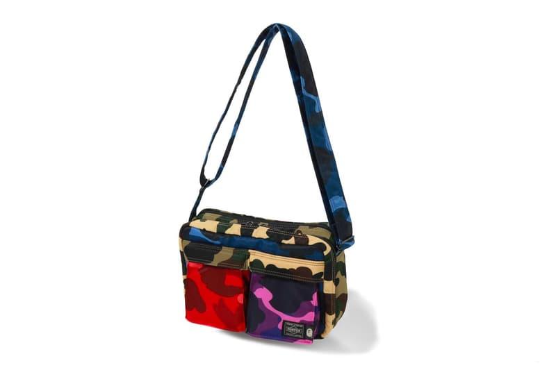 ベイプ BAPE ポーター PORTER Mix Camo Capsule Bags Shoulder Pouch