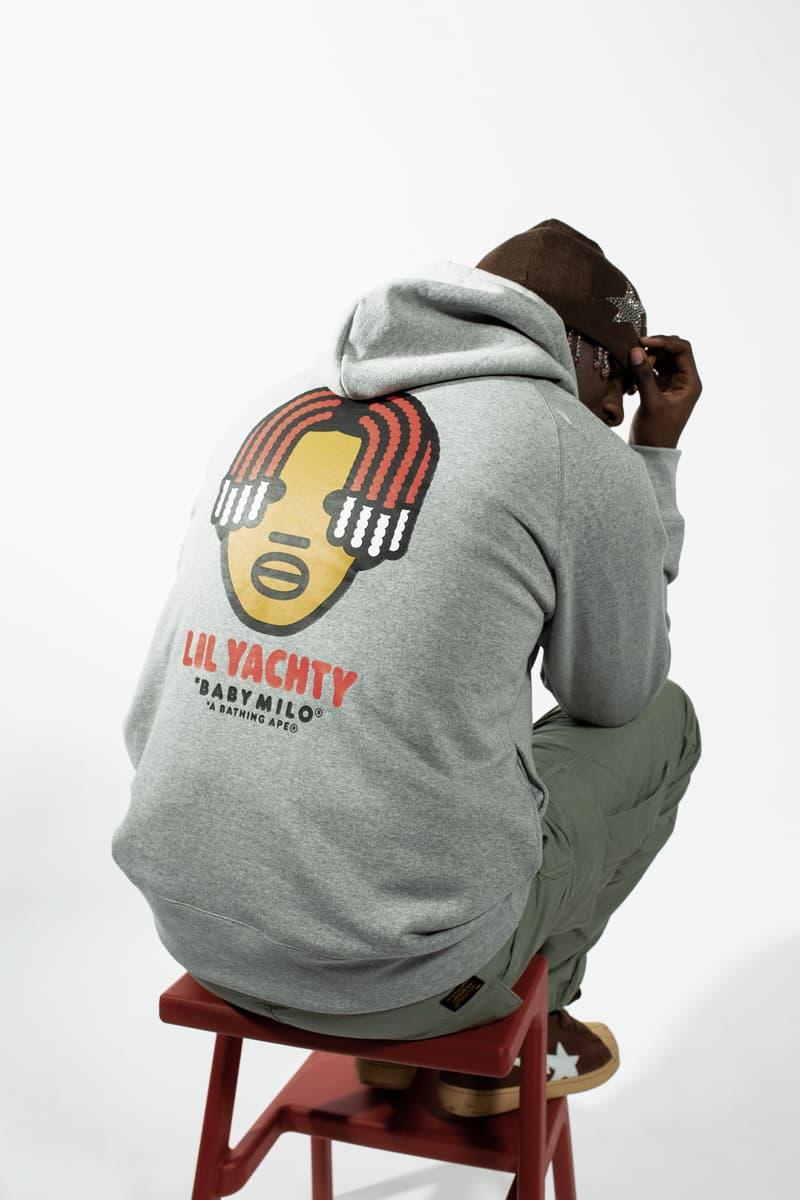 ベイプ エイプ リル・ヨッティ BAPE APE Lil Yachty Tシャツ パーカー オンライン