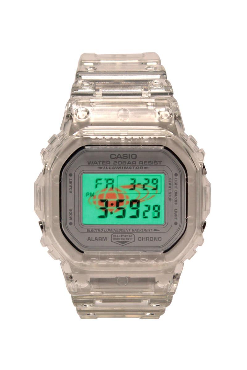 ビームス Gショック BEAMS G-SHOCK オンライン DW-5600 DW-5600SK-1JF コラボレーション 予約