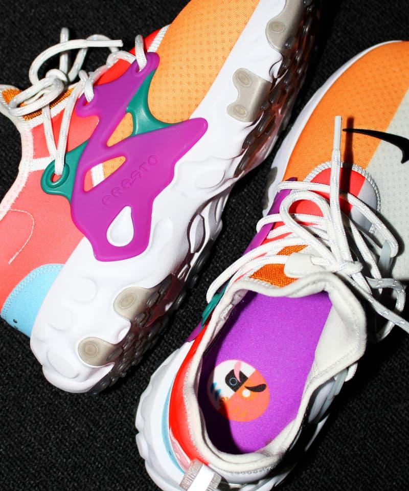 ビームス ナイキ リアクト プレスト BEAMS Nike React Presto 発売日 オンライン リリース 情報 詳細