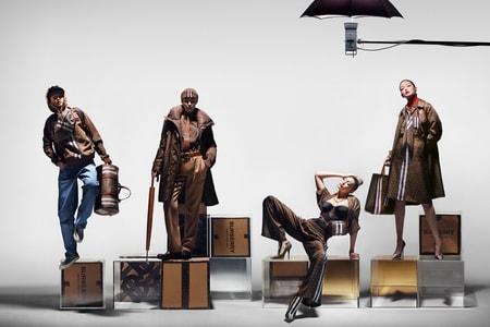 """Burberry が創業者トーマス・バーバリーのイニシャルをモチーフにした """"Monogram Collection"""" を発表"""