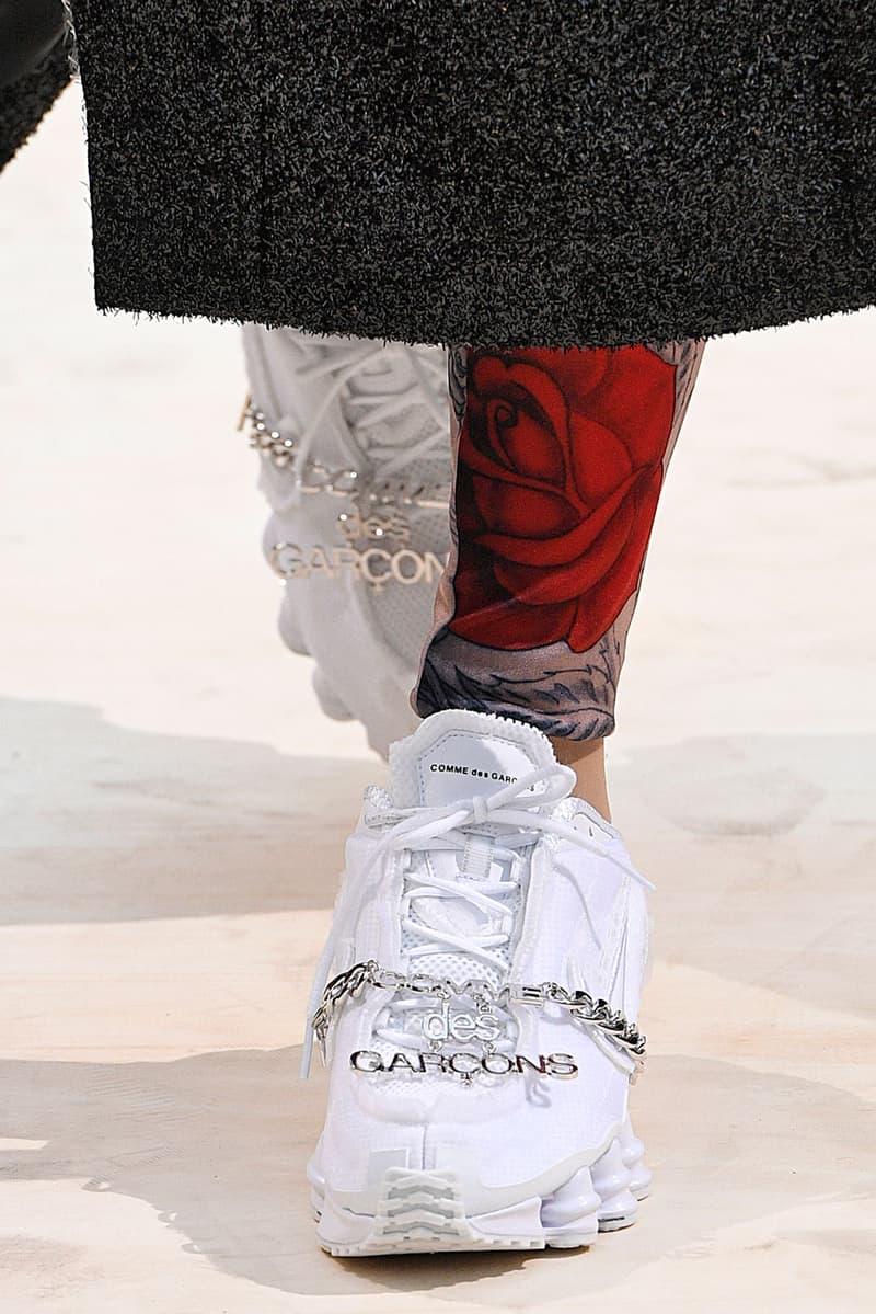 コムデギャルソン x ナイキ ショックス ドーバーストリートマーケット DOVER STREET MARKET GINZA が COMME des GARÇONS x Nike Shox の発売を予告