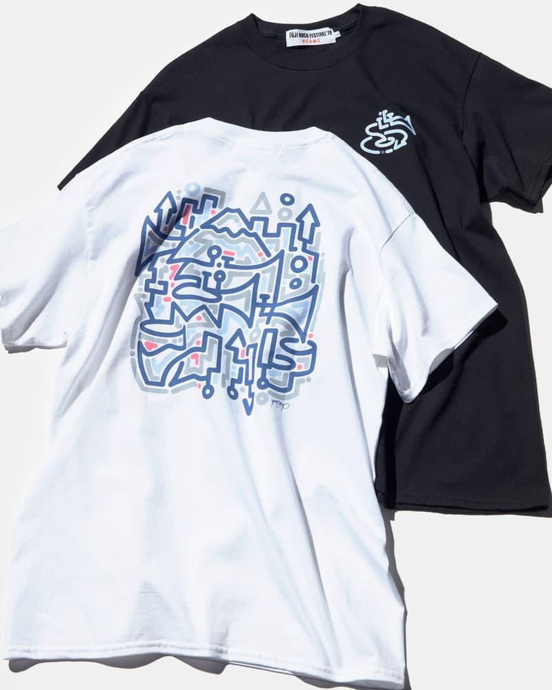 フジロック Tシャツ 2019 ビームス FUJI ROCK FESTIVAL '19 BEAMS オンライン たなかみさき セサミストリート F-LAGSTUF-F  MA1LL フラグスタフ ユーン・ヒョプ  Yoon Hyup Jean Jullien ジャン・ジュリアン The wonderful! design works