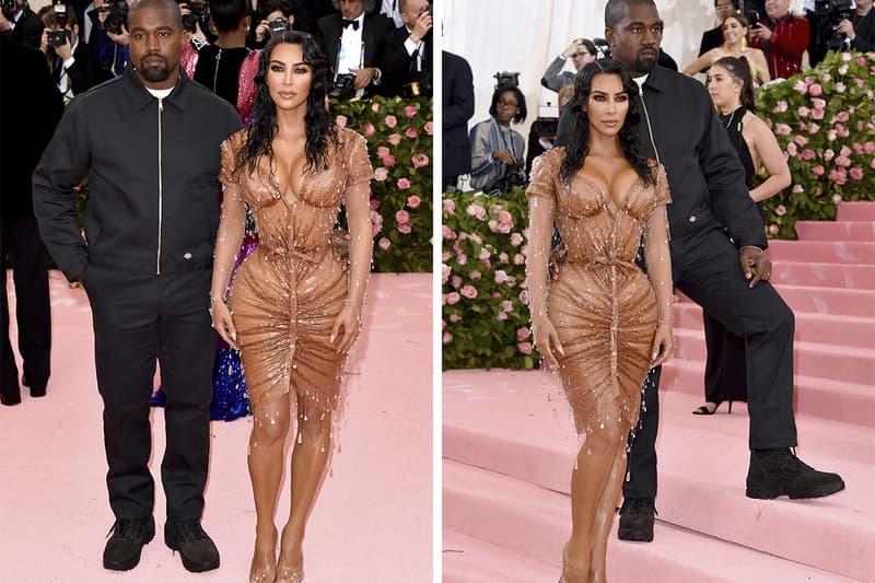 Kanye West Met Gala 2019 Dickies Eisenhower Jacket Buy Classic Eisenhower Jacket Workwear Kim Kardashian Thierry Mugler