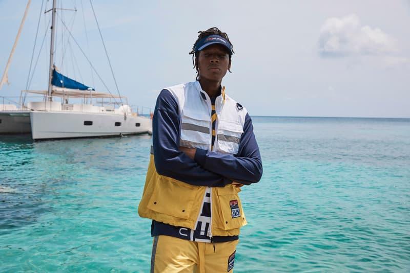 キス KITH x トミー ヒルフィガー KITH x Tommy Hilfiger Spring/Summer 2019 Collection Hyperbole Running Sneaker nautical tropical island of mustique 1990s Monogram Track Suits Sailing Vests