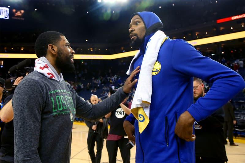 NBA カイリー・アービング Kyrie Irving  ケビン・デュラント Kevin Durant の来季の所属先はニックス knicks で確定?