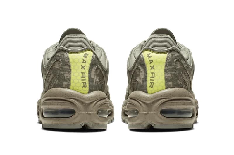 """イキ エアマックス テイルウィンド Nike Air Max Tailwind IV """"Digi-Camo"""" Sneaker Release Information Drop Information Ripstop Upper Volt Details Mini Swoosh Branding Speckled Sole Unit Retro"""