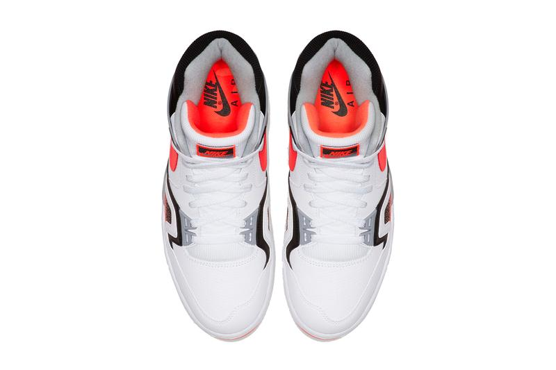 Nike Air Tech Challenge 2 Hot Lava CJ1437 100 andre agassi sneakers shoes white red black infrared tennie lebron james 16