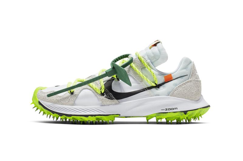 オフホワイト x ナイキ Virgil Abloh ヴァージル・アブロー Off-White x Nike Zoom Terra Kiger 5 Release Details Official First Closer Look Sneakers Trainers Kicks Footwear Cop Purchase Buy Coming Soon Date Caster Semenya