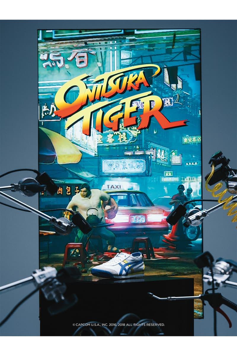 Onitsuka Tiger ストリートファイター 春麗 スニーカー MEXICO オニツカタイガー アシックス コラボレーション