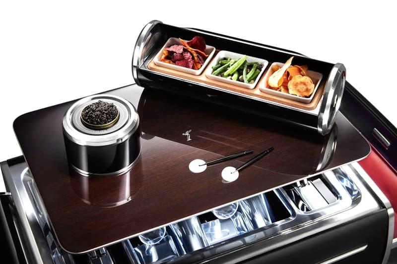 超高級自動車メーカー Rolls-Royce ロールス ロイス セレブ  シャンパン チェスト 登場