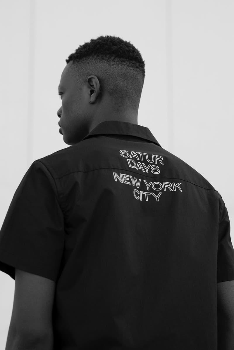 Saturdays NYC サタデーズ ニューヨークシティ 代官山 2019年プレフォールコレクションの最新ルックブック 公開