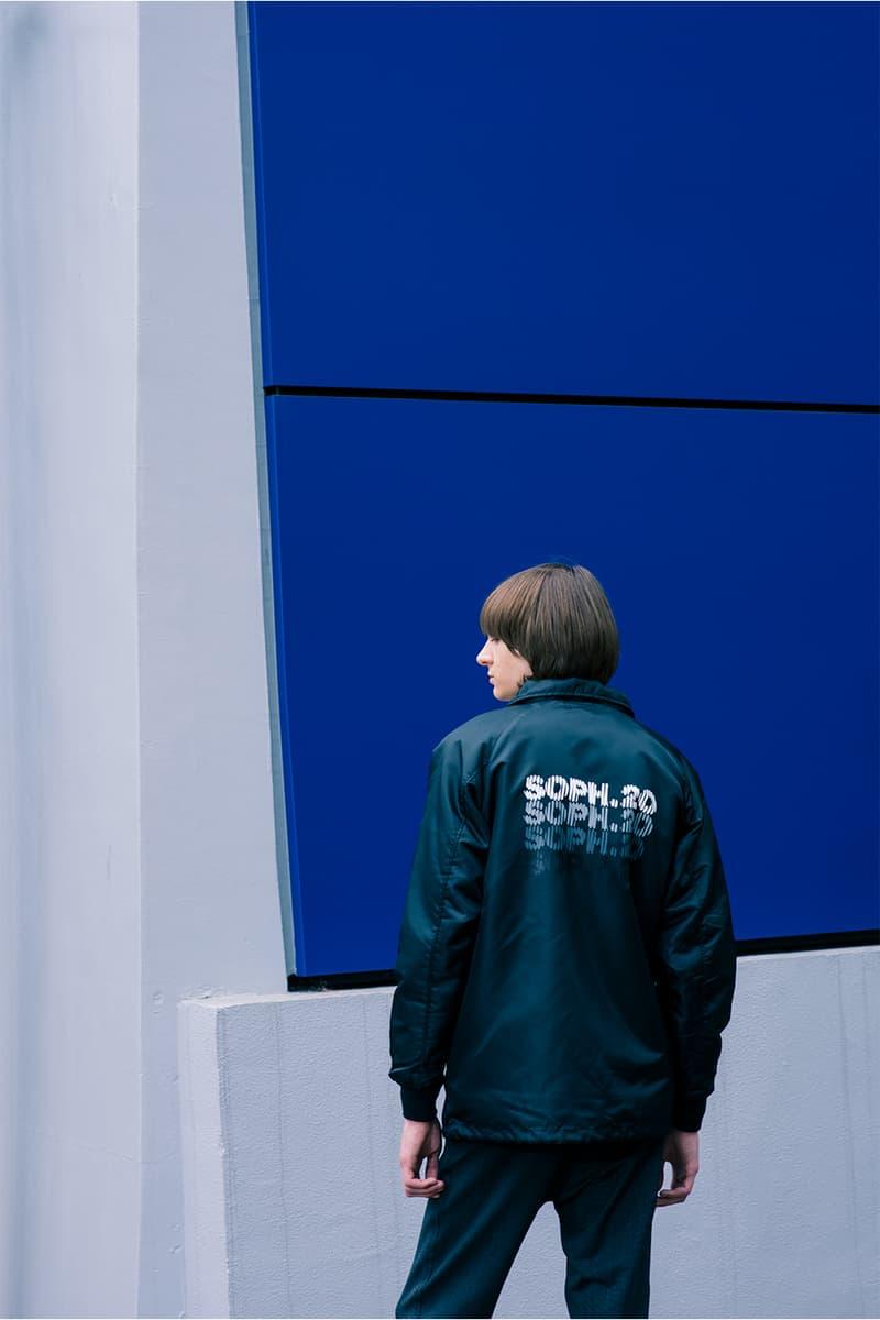 SOPH. ソフ オンライン 限定 ブランド SOPH.20 イメージ ビジュアル ルック ブック