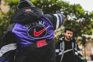 日本に先駆けて発売を迎えたパリにて Supreme x Nike の最新コラボアイテムにクローズアップ