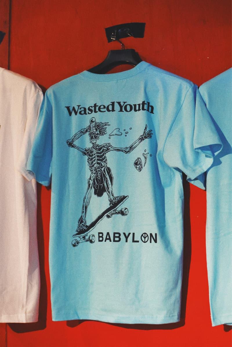 トラッシュトーク Trash Talk Babylon LA ウェイステッド ユース Wasted Youth kzm VERDY ヴェルディ
