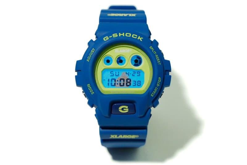 エクストララージ G-SHOCK DW-6900 XLARGE Gショック calif カリフ ブルー