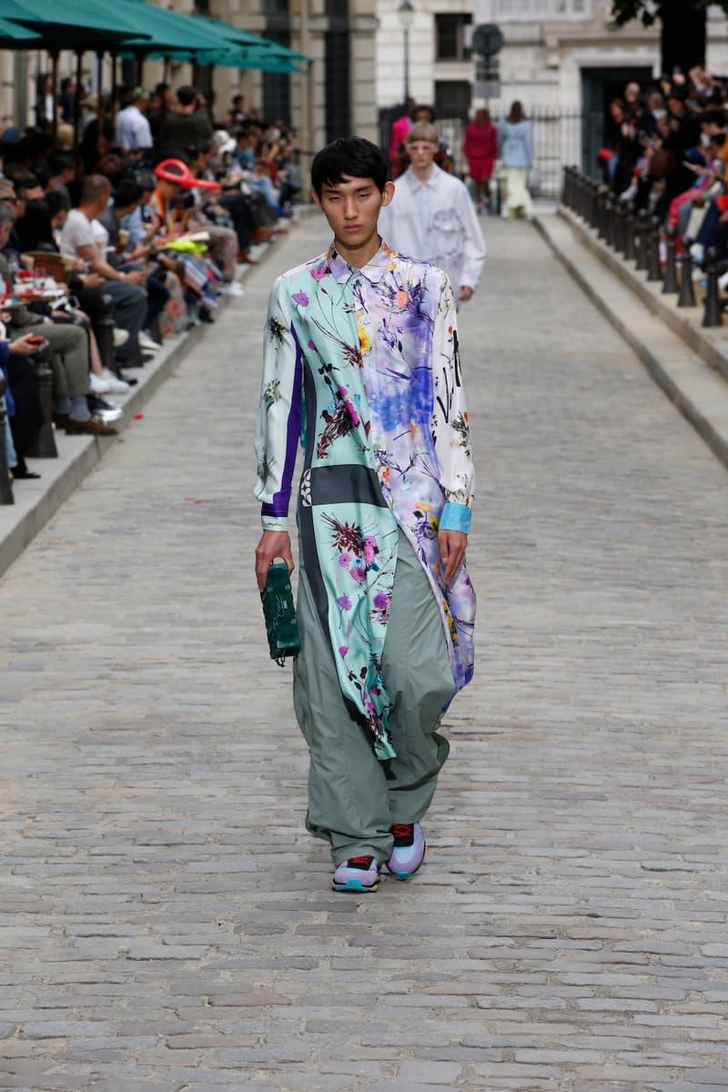 ルイ・ヴィトン Louis Vuitton ヴァージル・アブロー SS20 Paris Fashion Week Runway Show mens spring summer 2020 virgil abloh Héctor Bellerín