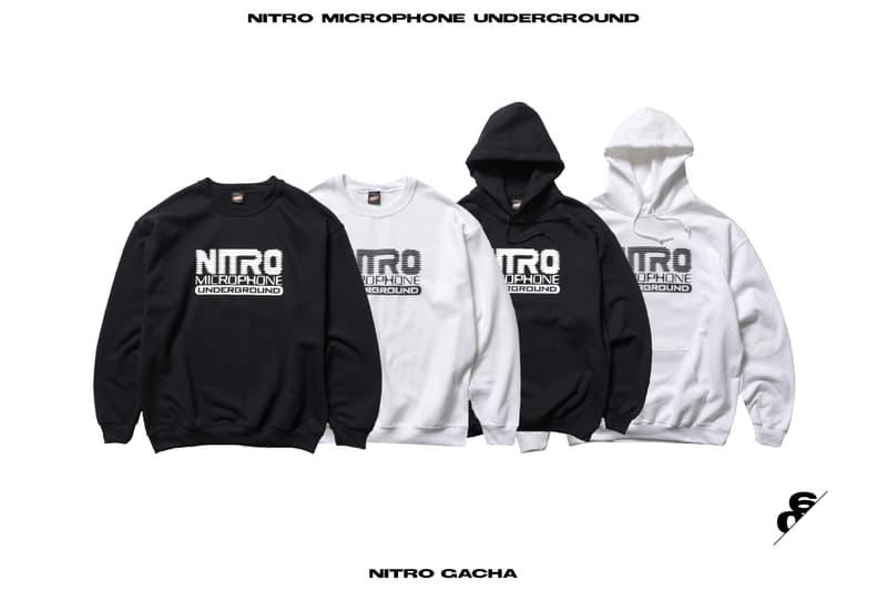 ニトロ・マイクロフォン・アンダーグラウンド NITRO MICROPHONE UNDERGROUND Nike ナイキ エアフォース1  RAP TEES ラップティーズ Shure シュア G-SHOCK ジーショック DSPTCH ディスパッチ New Era ニューエラ UGG アグ
