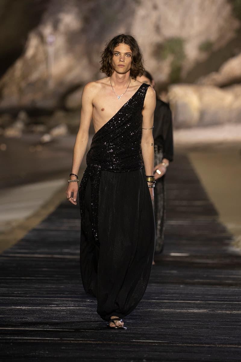 サンローラン 2020年春夏 メンズ コレクション ランウェイ デザイナー アンソニー ヴァカレロ The Rolling Stones ミック ジャガー