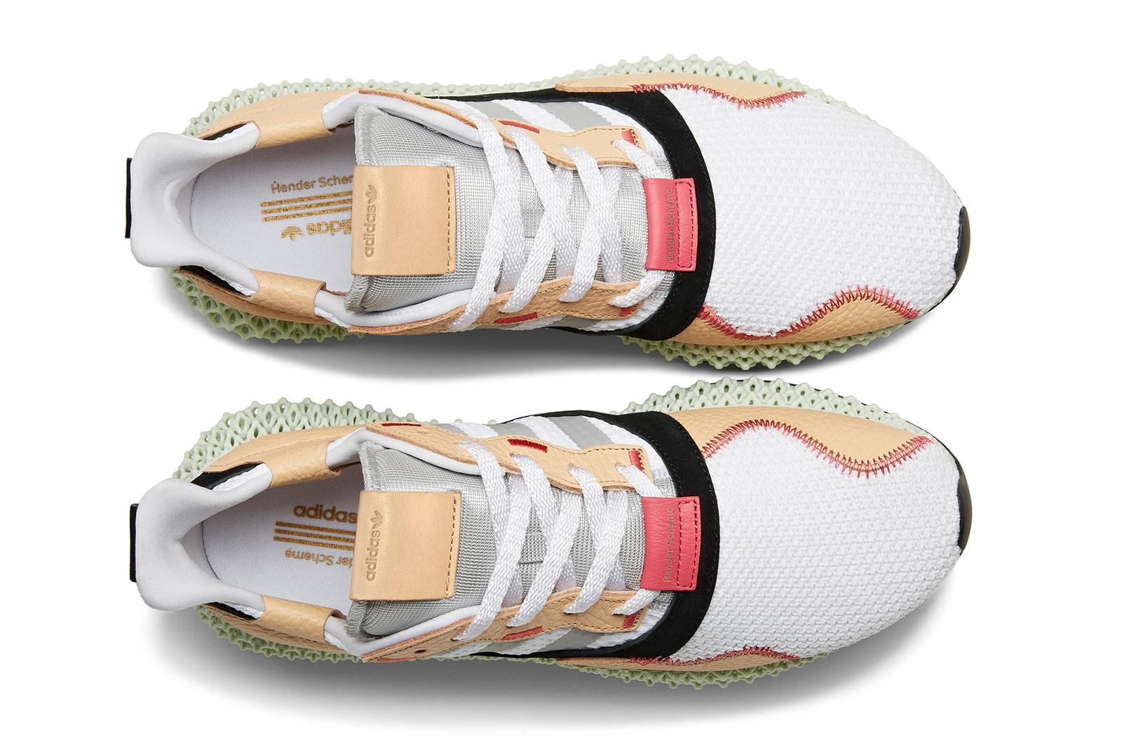 エンダースキーマ hender scheme adidas originals アディダス オリジナルス 最後 コラボ フットウェア 発売 決定 4D zx